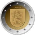 Latvia 2€ 2017  (Kurzeme)