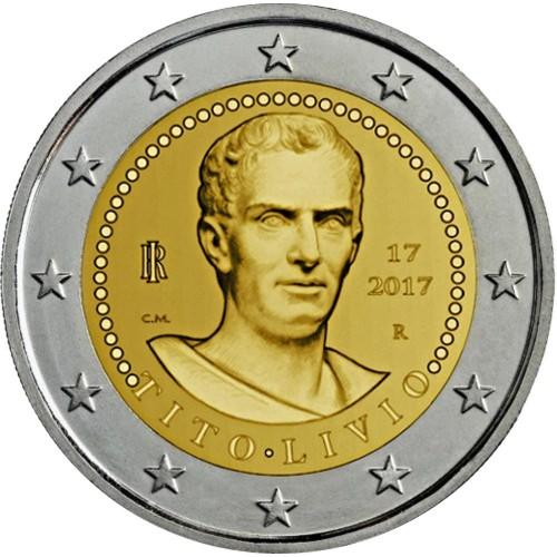 Italy 2€ 2017 Titus Livius