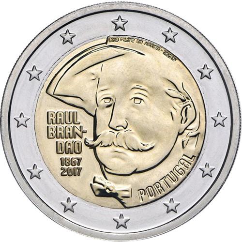 Portugal  2,00€ 2017 Raúl Brandão