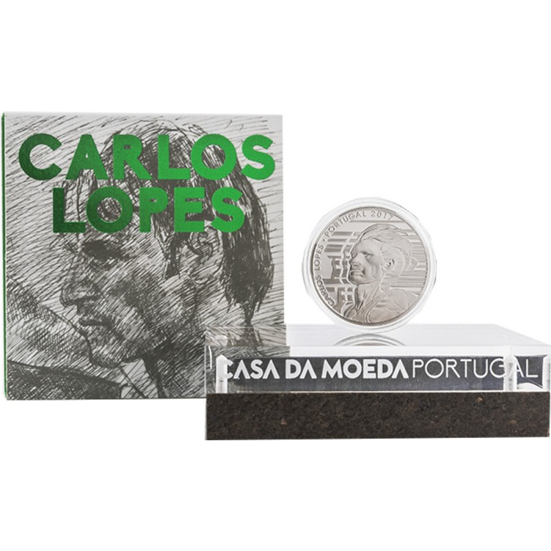 Portugal - 7.5€ 2017 Carlos Lopes Proof (Ouro)