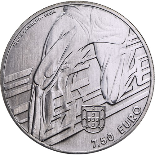 Portugal - 7.5€ 2017 Carlos Lopes (Silver Proof)