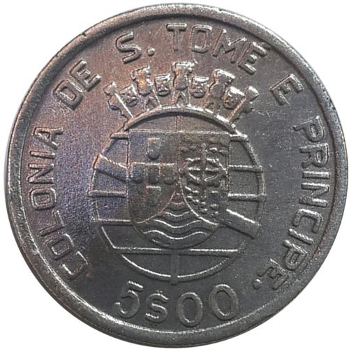 S. Tomé e Príncipe 5$00 1948