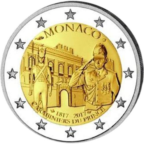 Monaco - 2 Euros 2017 (Carabinieri)