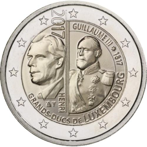 Luxembourg 2€ 2017 Guillaume III