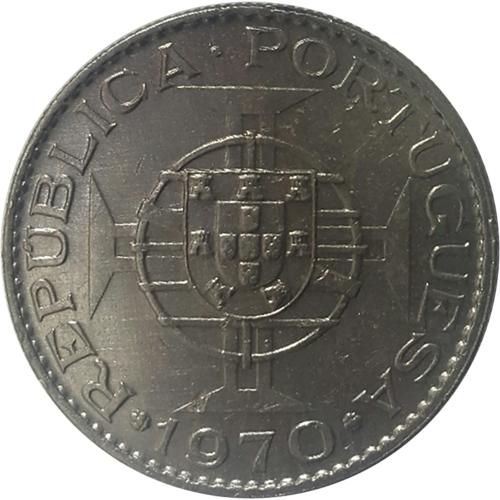 Timor 10$00 1970