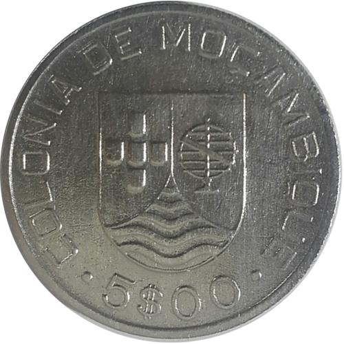 Moçambique 5 Escudos 1935