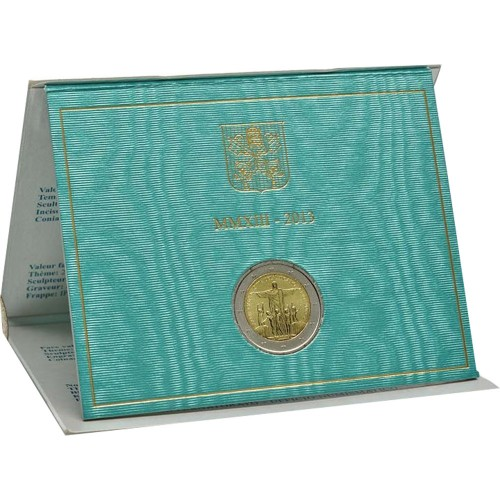 Vatican 2 euros 2013