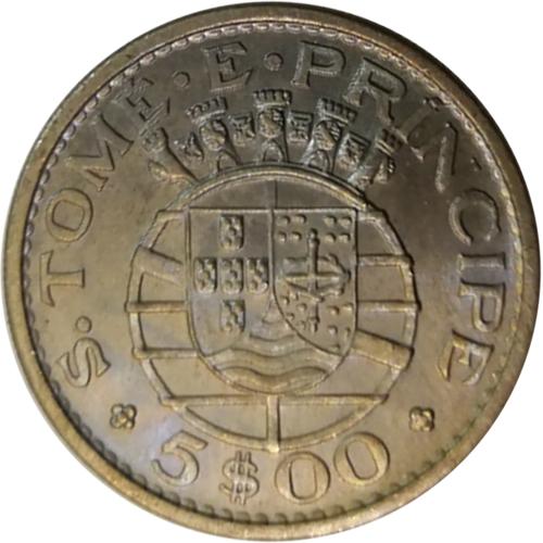 S. Tomé e Príncipe 5$00 1971
