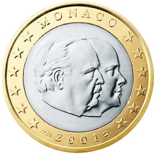 Monaco 1€ 2001