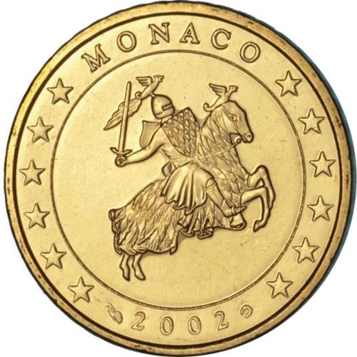 Monaco 0.50€ 2002