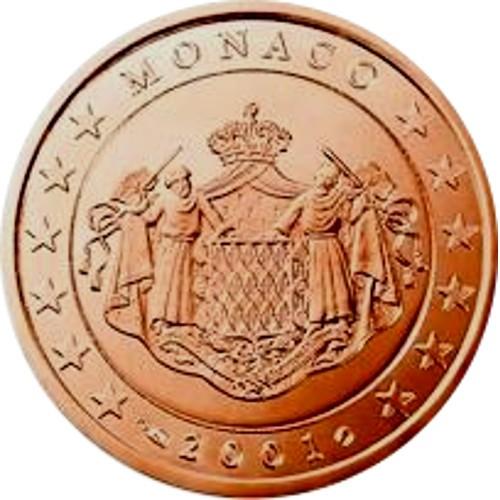 Monaco 0.02€ 2001