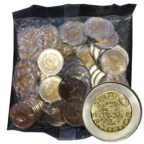 Saco 50 Moedas 100$00 1999 (Unicef - Portugusa)