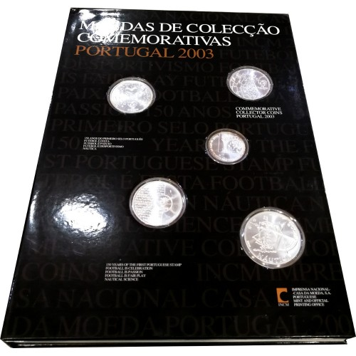 Portugal - 2003 Commemorative coins collection