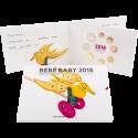 Portugal SÉRIE ANUAL 2018 - BEBÉ (FDC)