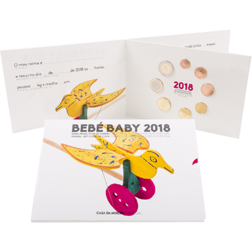 Portugal SÉRIE ANUAL 2017 - BEBÉ (FDC)