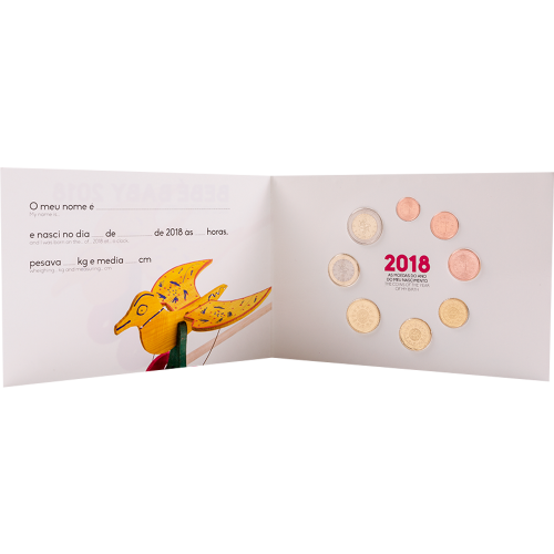 Portugal 2017 ANNUAL SERIES - BABY SET (FDC)