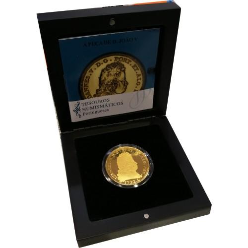 Portugal - 5€ 2012 A PEÇA DE D. JOÃO V (Ouro)