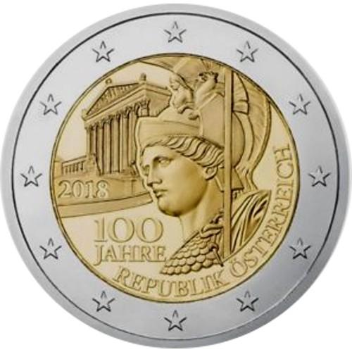 Austria 2€ 2018 -República Austríaca