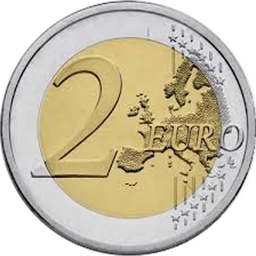 Letónia 2€ 2018  (100 Anos dos Países Bálticos)