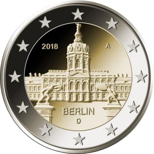 """Germany 5x2€ 2018 """"Berlin"""""""