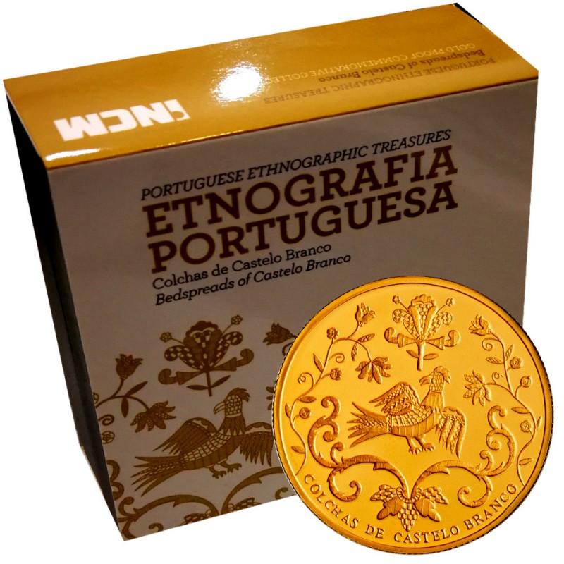 Portugal 2,50€ 2015 (Colchas de Castelo Branco)  Ouro