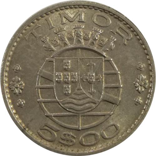 Timor 5$00 1970