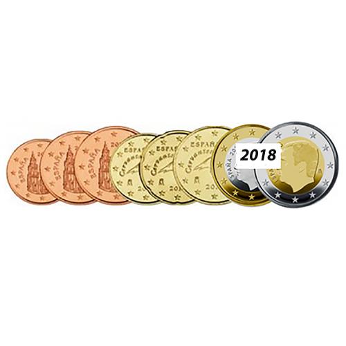 Spain 2018 set