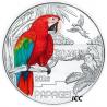 Áustria  3€  2018 Papagaio