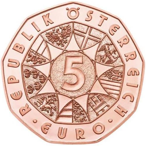 Áustria - 5€ 2018 Coelho