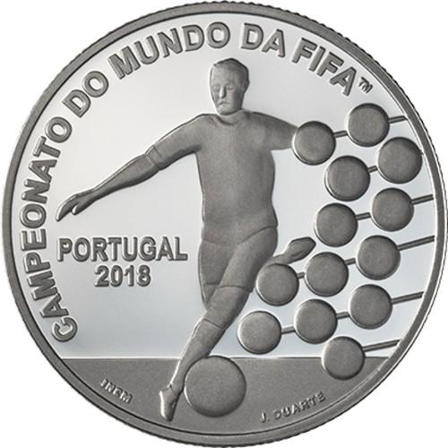 Portugal  - 2.50€  2018 Campeonato do Mundo Fifa 2018 (Prata Proof)