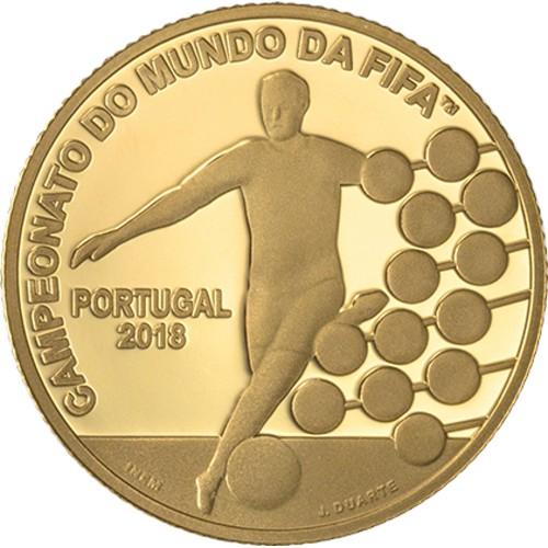 Portugal  2.50€  2018 Campeonato do Mundo Fifa 2018 Ouro