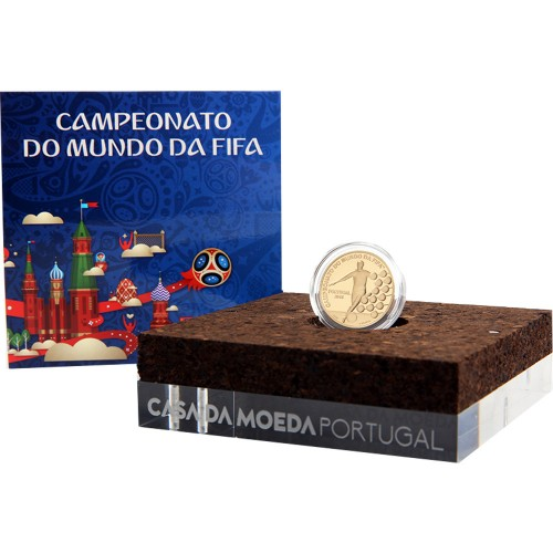 Portugal  - 2.50€  2018 Campeonato do Mundo Fifa 2018 (Ouro)