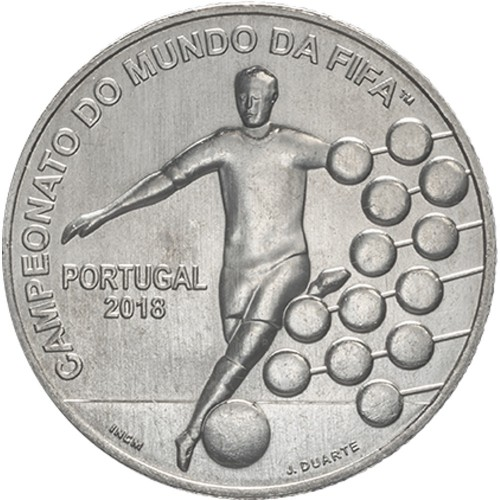Portugal  - 2.50€ 2018 Campeonato do Mundo Fifa 2018