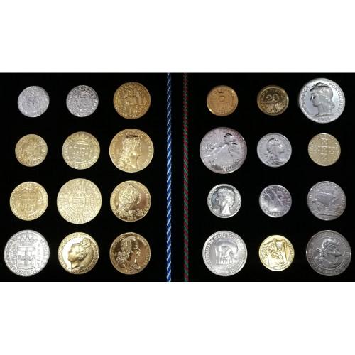 """Colecção de Medalhas """"Os Réis da História de Portugal"""""""