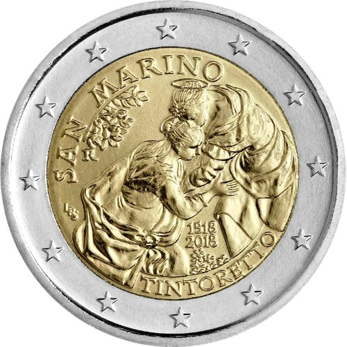 San Marino - 2€ 2017 (Inte. Year of Sustainable Tourism)