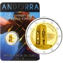 Andorra 2€ 2018 (25 years  of the Constituition)