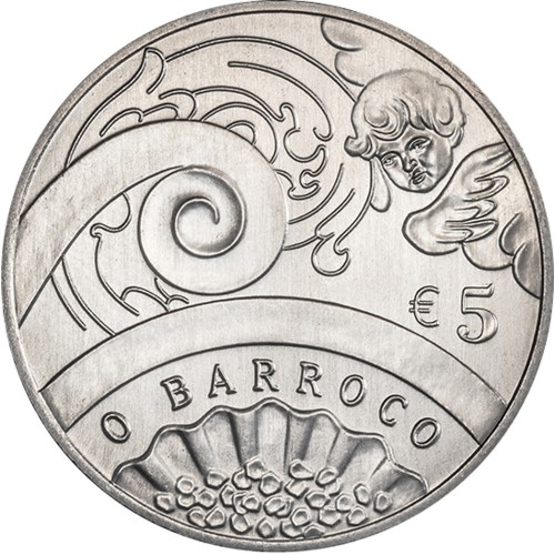 Portugal  - 5€  2018 O BARROCO (NORMAL)