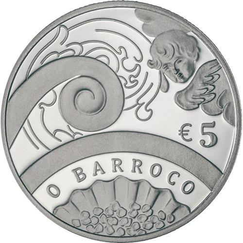 Portugal  - 5€  2018 O BARROCO ouro