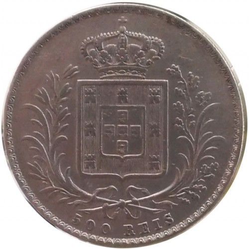 D. Luís I 500 Reis 1865