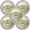Alemanha 2€ 2007 Castelo de Schwerin (5 Letras)