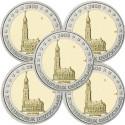 Alemanha 2€ 2008 St.Michaelis (5 Letras)