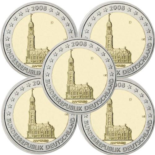 Alemanha 2€ 2008 St.Michaelis