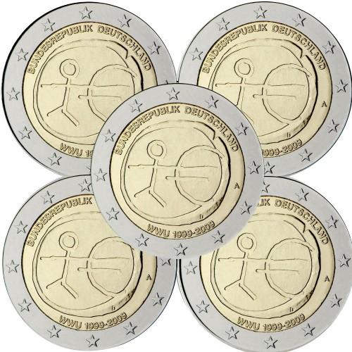 Alemanha 2€ 2009 E.M.U. (5 Letras)