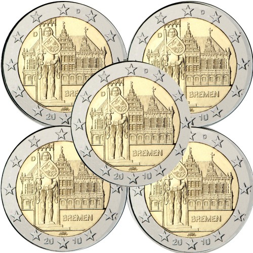Germany 2€ 2010 Bremen