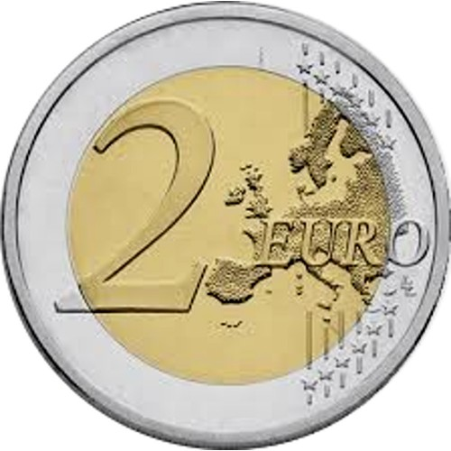 Lithuania 2€ 2018 (100 Years baltic States)