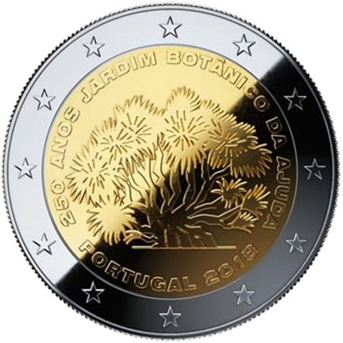 Portugal  2,00€ 2018 250 Years Ajuda Botanical Garden (Bu)