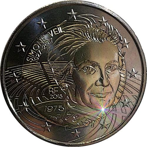 França 2€ 2018 (Simone Veil)