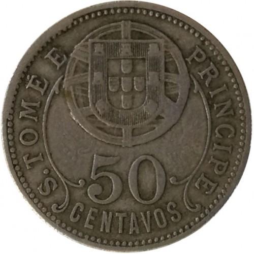 S. Tomé e Príncipe 50 Centavos 1929