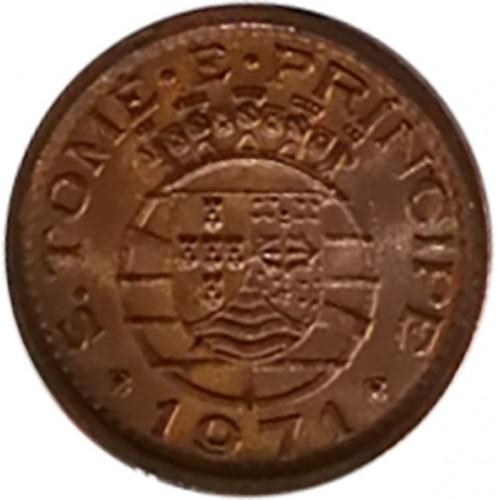 S. Tomé e Príncipe 20 Centavos 1971