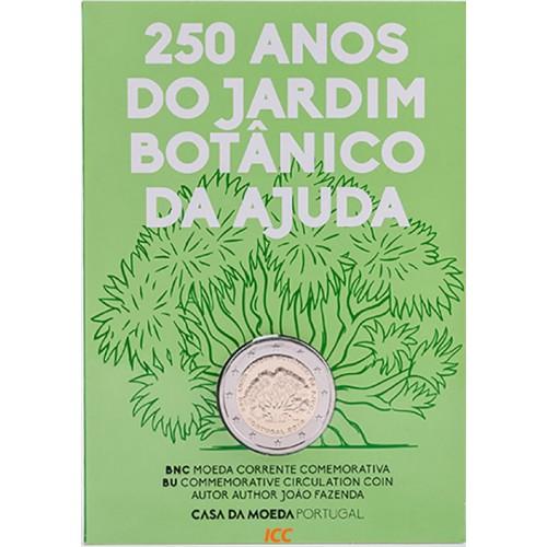 Portugal  2,00€ 2018  250 Anos Jardim Botânico (B.N.C)